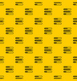 sign horizontal columns load pattern vector image vector image