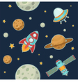 Space seamless pattern vector | Price: 3 Credits (USD $3)