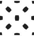 wooden barrel pattern seamless black vector image vector image