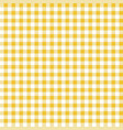 yellow seamless table cloth texture vector image