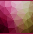 abstract polygonal mosaic background multi-color vector image vector image