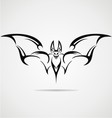 Bat Tattoo Design vector image
