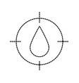 drop blood donation medicine care icon vector image vector image