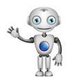 robot big eyes vector image