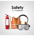 Safety at work icon design vector image vector image