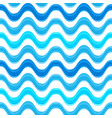 seamless pattern with blue watercolors painted vector image vector image