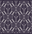 tribal seamless pattern with deer vector image