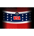 usa modern backgrounds style vector image vector image