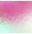 abstract irregular polygonal background vector image vector image