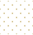 Christmas golden background seamless tiling vector image vector image