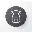 cow icon symbol premium quality isolated kine vector image