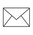 email envelope cartoon vector image vector image
