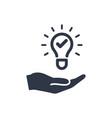 propose brilliant idea - web icon vector image