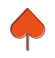 spade poker symbol icon