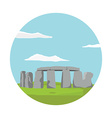 Stonehenge monument vector image vector image