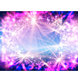 abstract christmas background design with lights vector image