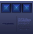 Abstract Background with Tiles vector image