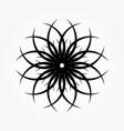 abstract circular 0017 vector image vector image