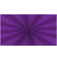 abstract purple striped retro comic background vector image vector image