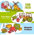 Agriculture Banner Set vector image vector image