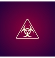 biohazard sign or icon vector image