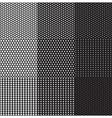 dots seamless pattern vector image vector image