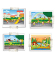 Playground photos vector image vector image