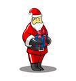 Santa Gift vector image vector image