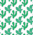 Seamless retro cactus plants for the home vector image vector image
