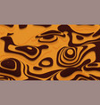 abstract orange paper cut terrain paper sclices vector image vector image
