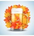 Beer Festival Symbol vector image vector image
