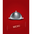 catering tray menu background vector image vector image