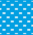cd changer pattern seamless blue vector image vector image