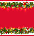 Christmas Border with Garland 2
