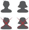 Default profile vector image