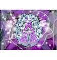 brain activity vector image vector image
