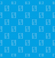 honeycomb on wood pattern seamless blue vector image