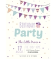 Inspirational happy birthday poster for boy vector image vector image