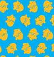 Piggy bank pattern color vector image