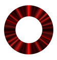 round frame of a luxurious red curtain vector image