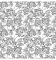 Intricate seamless pattern with decorative vector image
