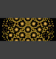 black and golden islamic arabic decorative pattern
