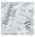 business colleges Word Cloud Concept vector image vector image