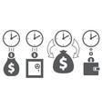 business financial ideas concept vector image