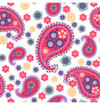 paisley pattern floral paisley abstract background vector image vector image
