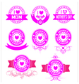 banner mothers day vector image