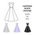 dress icon of for web and vector image vector image