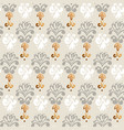 hand drawn baroque rapport seamless pattern