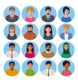 international avatars icons vector image vector image