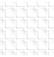 seamless abstract pattern with squares vector image vector image
